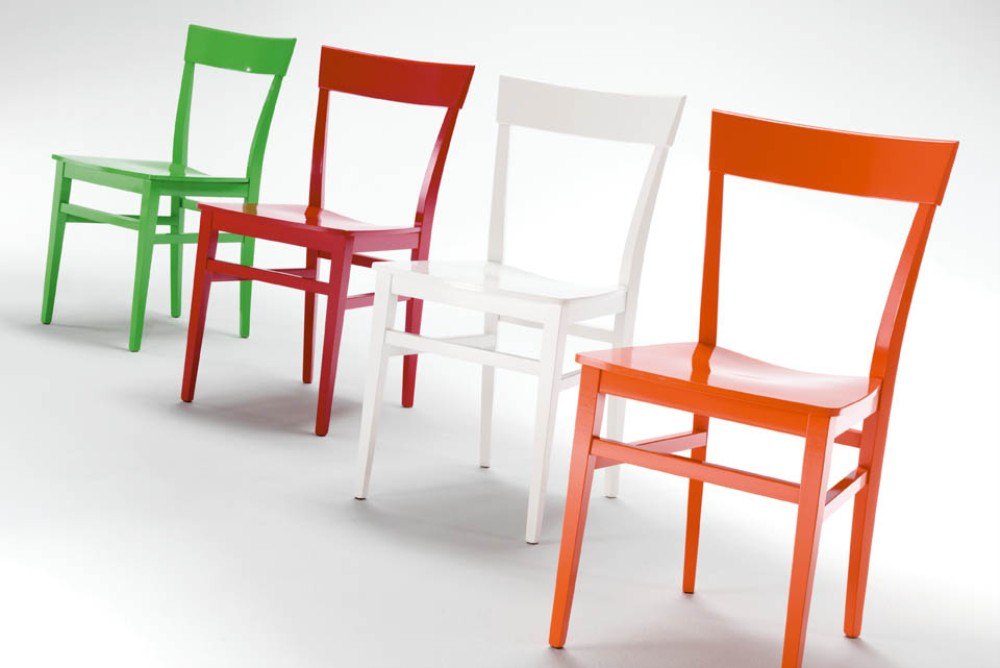 Palma italian chair district - Chaises scandinaves bois ...